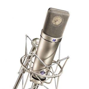 Neumann U87 Ai mit Mikrofonspinne