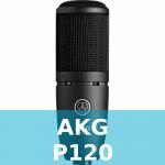 AKG P120 Test
